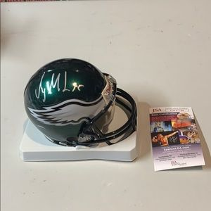 Other - Mychal Kendricks  Signed Eagles Mini Helment  JSA